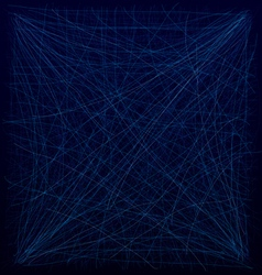 Spiderweb blue vector image