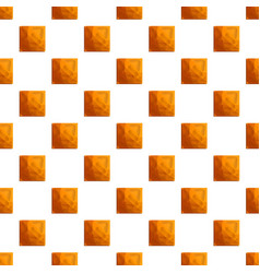 square crack biscuit pattern seamless vector image