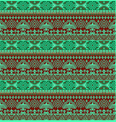 Tribal ethno seamless background vector