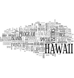 Aloha celebrated here lynn cook text word vector
