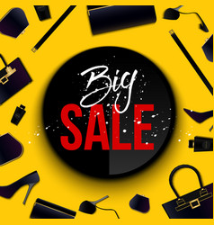 creative of super big sale vector image