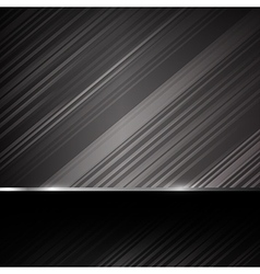 Dark chrome steel abstract background eps10 005 vector