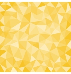 Gold low poly background vector