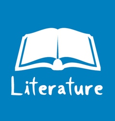 Literature icon vector