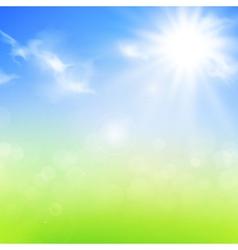 Summer or spring background vector