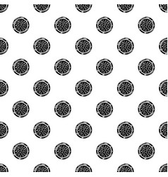 sushi caviar icon simple black style vector image