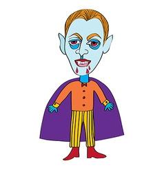 vampire mask vector image