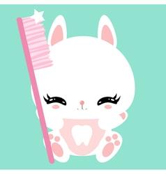 bunny 21 vector image vector image