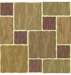 seamless stonewall tile vector image