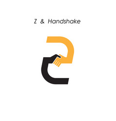 Creative z letter icon abstract logo design vector