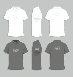 Mens t-shirt design template vector