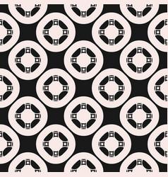 Ornamental seamless pattern for tiling geometric vector