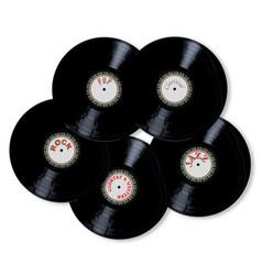 Vinyl collection vector