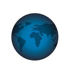 World earth symbol vector