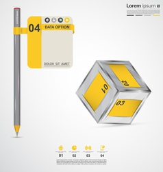 Modern infographic elements vector image vector image