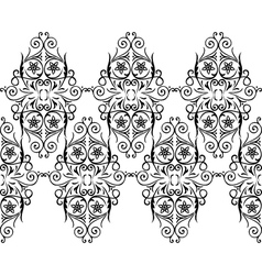Border lace vector