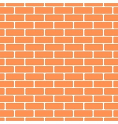 brick wall pattern background vector image