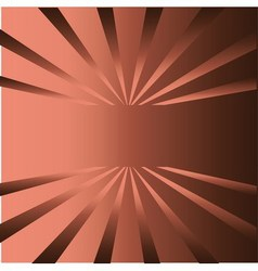 Brown rays background with place for your text vector