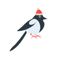 Closeup of bird in red hat vector