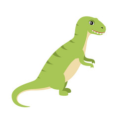 dinosaur with small hands vector image