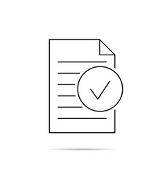 document icon paper icon eps10 vector image