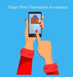 Finger print identification or verification vector