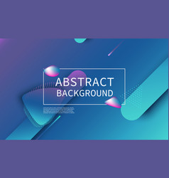 fluid shape composition abstract cover design vector image