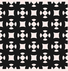 Monochrome seamless pattern simple geometric vector