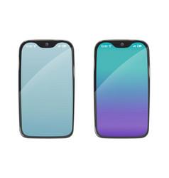phone modern smartphone vector image