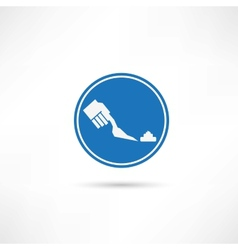 Clean up icon vector image vector image