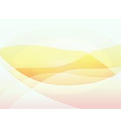 Orange warm background vector image