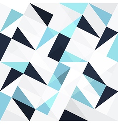 Blue triangles seamless vector