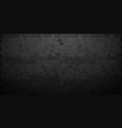dark mosaic background creative diamond design vector image
