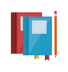 Education equipment flat icons vector