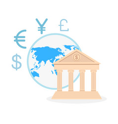 international money exchange vector image