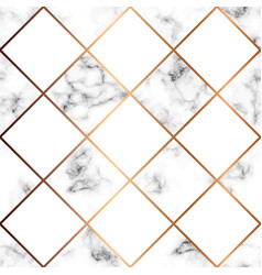 Marble texture seamless pattern design with white vector