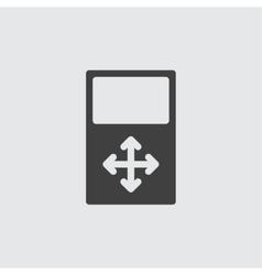 Move icon vector image