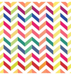 Seamless chevron colorful pattern pastel vector