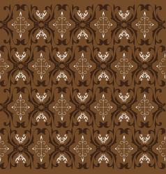 unique pattern for traditional batik clothes vector image