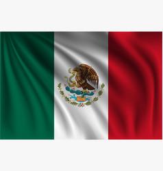 Waving mexico vector
