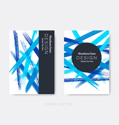 modern abstract brochure cover design vector image vector image