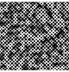 Black color seamless pattern with rhombuses vector image vector image