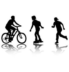 recreation vector image vector image