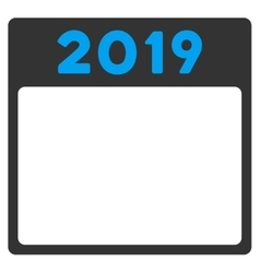 2019 Appointment Icon vector image