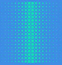blue geometric halftone dot pattern background vector image