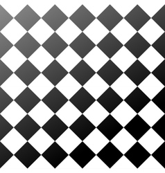 Ceramic tiles black and white chess board seamless vector
