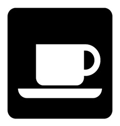 Coffee Shop Sign vector image