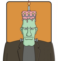 Frankensteins birthday vector