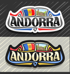 Logo for andorra vector