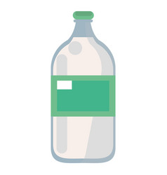 Mineral water bottle fresh vector
